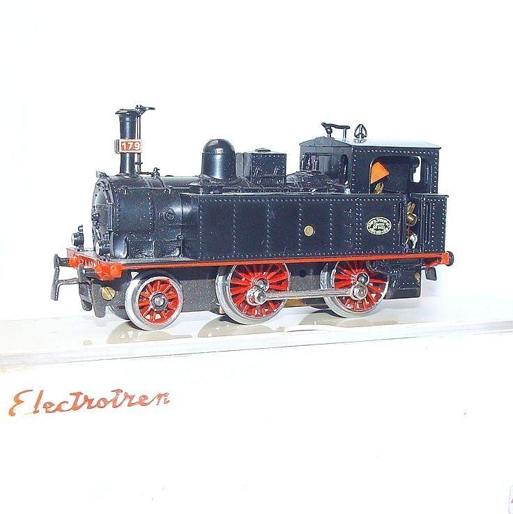 Electrotren HO RENFE España 179 Sharp Stewart & Co Locomotora de vapor MIB`75 Raro