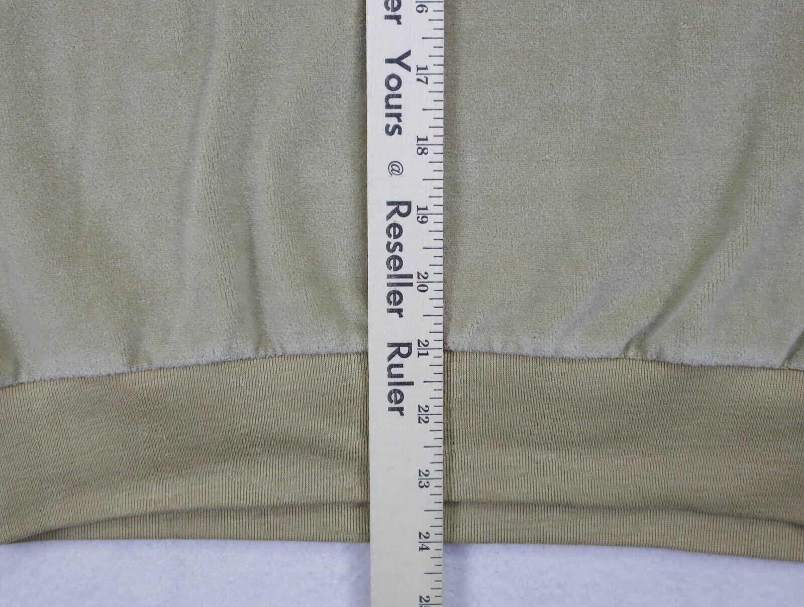Sears Sportswear mens velour sweater medium brown… - image 6