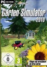 Garten Simulator 2010 für PC | NEUWARE | Werden Sie zum virtuellen Gärtner!