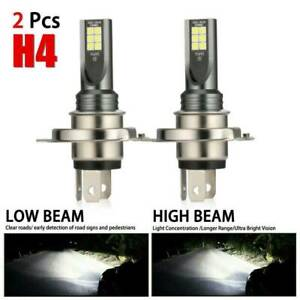 2x-H4-LED-Headlight-Kits-110W-20000LM-FOG-Light-Bulbs-6000K-Driving-DRL-Lamps