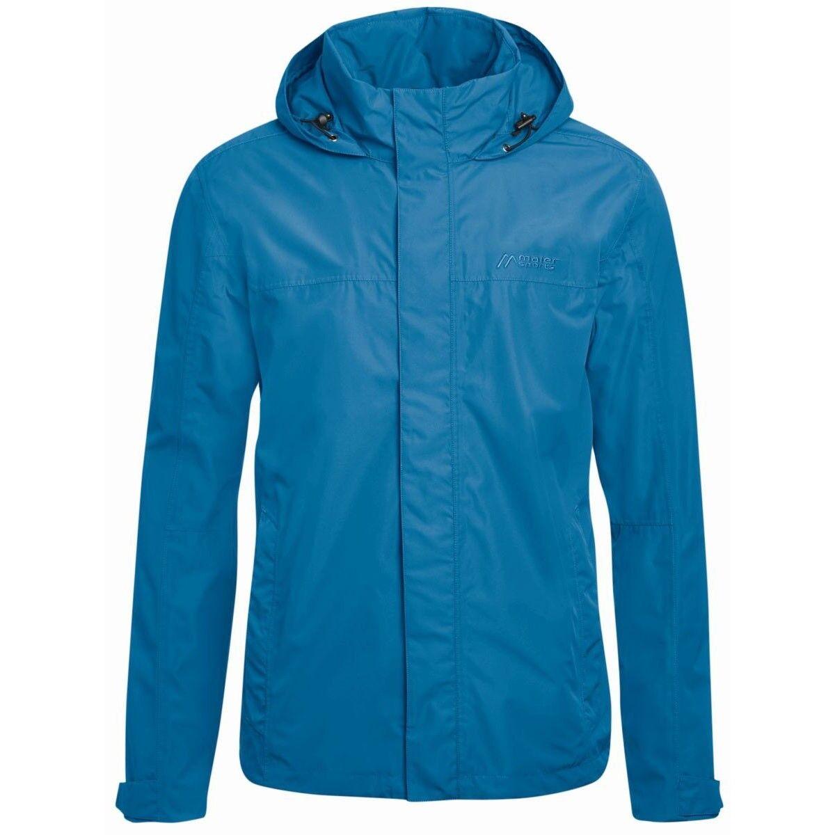 Maier Sports altid m lluvia chaqueta azul