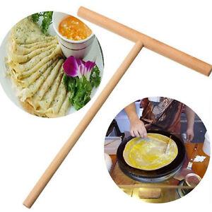 Am-Crepe-Maker-Pancake-Batter-Spreader-Stick-Wooden-Kitchen-DIY-Tool-Fine