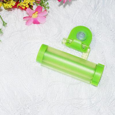 Bathroom Plastic Toothpaste Squeezer Dispenser Tube Rolling Hook Holder LEUK