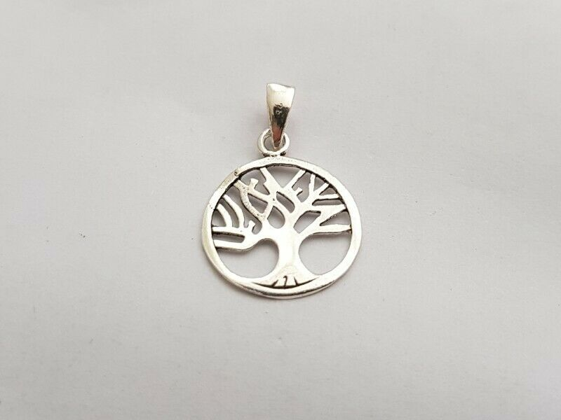 BA536 Sterling Silver Tree of Life Pendant