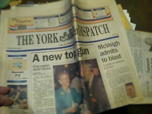 VINTAGE-HISTORICAL-1995-PAPER-YIMOTHY-MCVEIGH-HILLARY-CLINTON-OPRAH-20-298