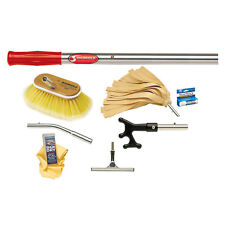 Shurhold Deluxe 8p Marine Boat Maintenance Kit Extension Pole/Brush/Mop/Squeegee