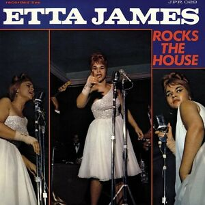 Etta James-Rocks the House (Limited Blue Vinyl) VINILE LP NUOVO