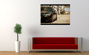 "BMW 5 SERIES E60 BLACK NEW GIANT LARGE ART PRINT POSTER PICTURE WALL 33.1/""x23.4/"""
