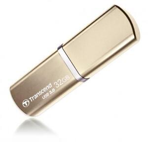 32GB-Transcend-JetFlash-820G-USB-3-0-alta-velocidad-metalico-oro-Flash-Drive