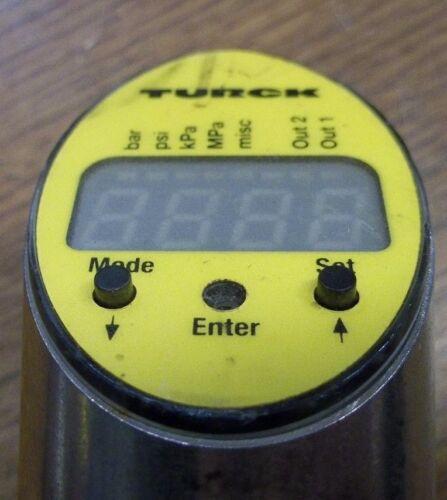 J4 TURCK PS010V-503-LI2UPN8X-H1141 PRESSURE SENSOR