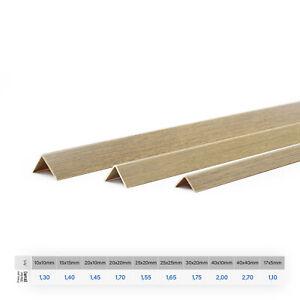 200cm Winkelleisten Kunststoffprofil Winkelprofil Leisten Fensterleiste Schwarz
