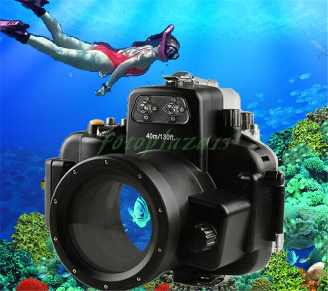 40M 130ft Waterproof Underwater Diving Housing Case for Nikon D7000 DSLR Camera