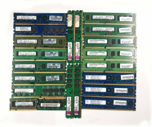 1GB 2GB 4GB  1333 1060 MHz DDR3 Memory from Desktops