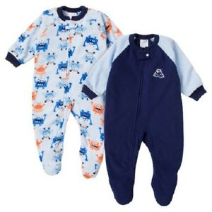 4e103a1c30 Details about Gerber Toddler Boys  + Girls  Footed Blanket Sleeper