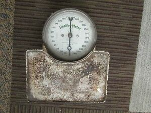 832f1b55554fc Details about ANTIQUE CONTINENTAL SCALE WORKS 1917-1921 HEALTH O METER  Working