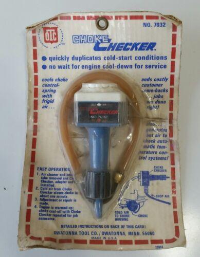 7032 Automotive Tool OTC Tools Choke Checker No