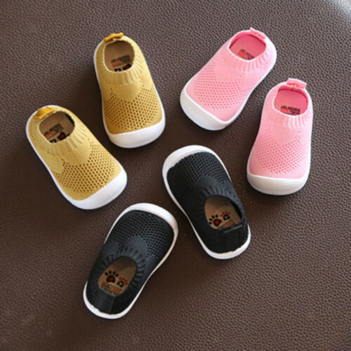 Baby gestrickte Schuhe Kinder Socken Schuhe Sneakers  Baby Kleidung Zubehör