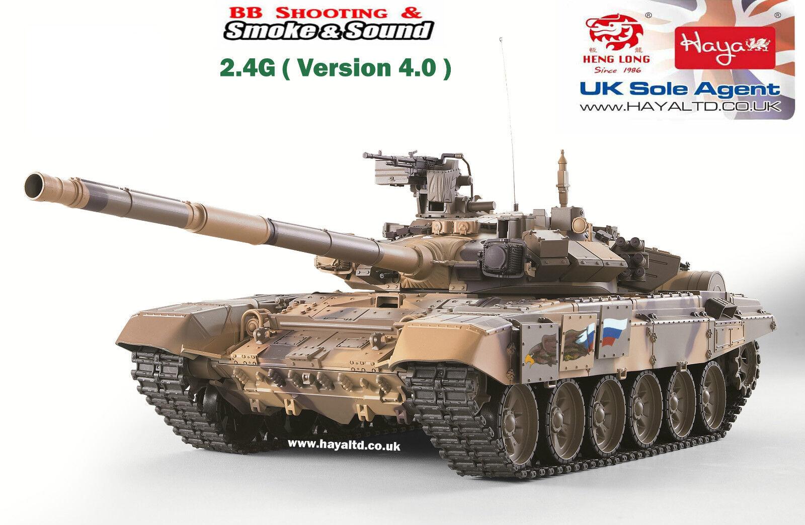 Heng long Radio Remote Control 1 16 RC Tank T90 UK