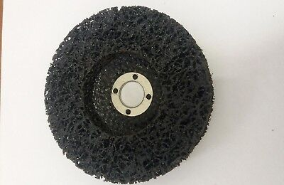 Black Silverline Tools 339923 125 mm Polycarbide Abrasive Disc with 22.23 mm Bore