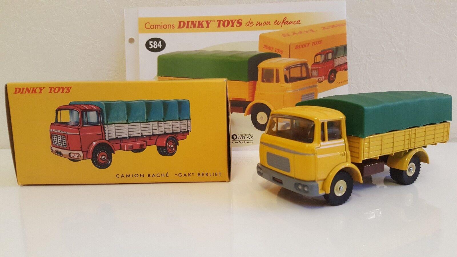 Dinky toys atlas-berliet gak sheeted