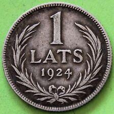 LITUANIE 1 LATS 1924