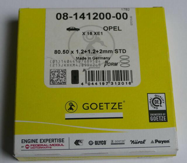 KOLBENSCHMIDT Kolbenringsatz 800038910000 für GTC CC Z02 T98 ASTRA VECTRA OPEL
