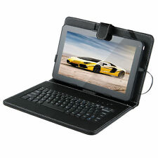 """10.1"""" Quad Core Android 4.4 KitKat Tablet PC 8GB Wifi 2 Cam Bundle 10"""" Keyboard"""