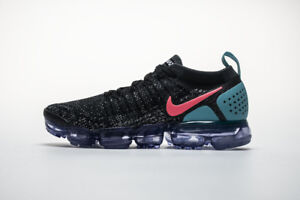 best loved 5f26d f8b90 Details about NEW Nike Air VaporMax Flyknit 2.0 Black Hot Punch White  942842 003 EU40-45