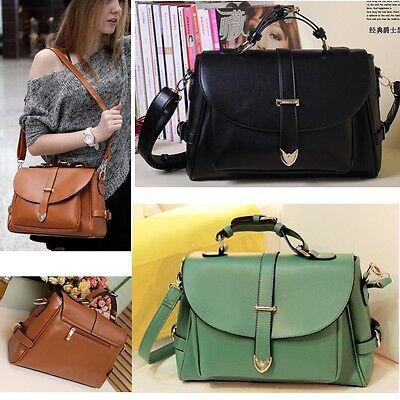 Fashion Women's Leather Purse Handbag Shoulder Bag Satchel Tote Hobo Messenger