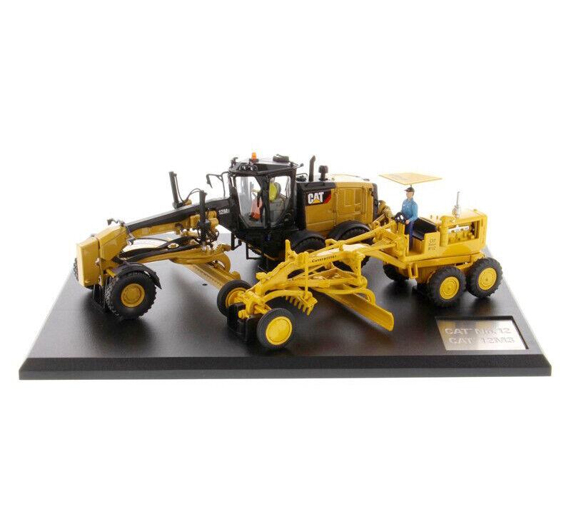 Diecast Escala  50 Masters Cat Caterpillar No. 12 y 12M3 Motor clasificadora