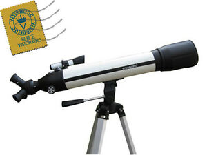 SCF-700x90mm-Space-Refractor-Astronomical-Telescope-Three-Head-With-Tripod