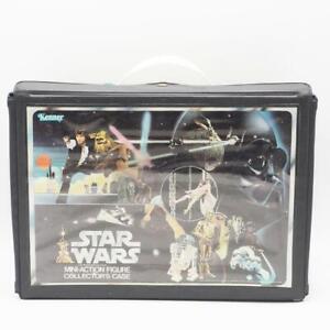 Vintage-Star-Wars-Vinyl-Action-Figure-Case-w-Inserts