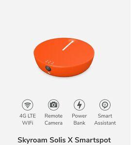 New Skyroam Solis Unlimited Mobile WiFi Hotspot Power Bank Global SIMFree 4G LTE