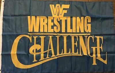 Wrestle Mania Flag 3x5 WWF Banner World Wrestling Federation