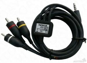 Details about Nokia CA-75U TV Out / AV Composite Cable for Nokia Mobile  Phones & NOW TV Box