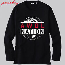 AWOLNATION AN Electronic Rock Band Logo White T-Shirt Size S M L XL 2XL 3XL