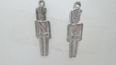 2 Dollhouse Miniature Unfinished Metal long screwdriver