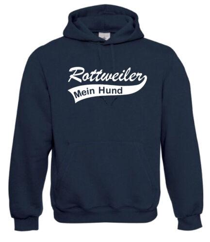 Hunde HoodieRottweilerMein HundHundesportKapuzen-Pullover  10-152-3