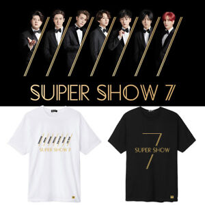 KPOP SUPER JUNIOR T-Shirt SUPER SHOW 7 Concert Tshirt Unisex