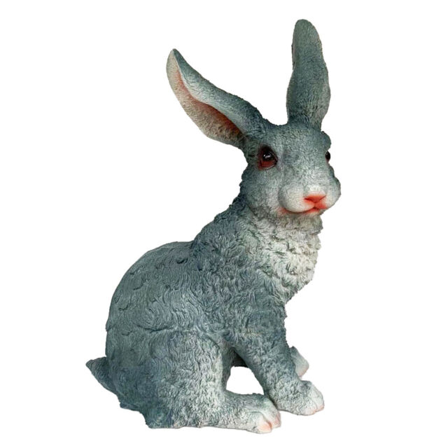 New Polyresin Outdoor Decor Bunny Garden Rabbit Statue Lawn Ornaments