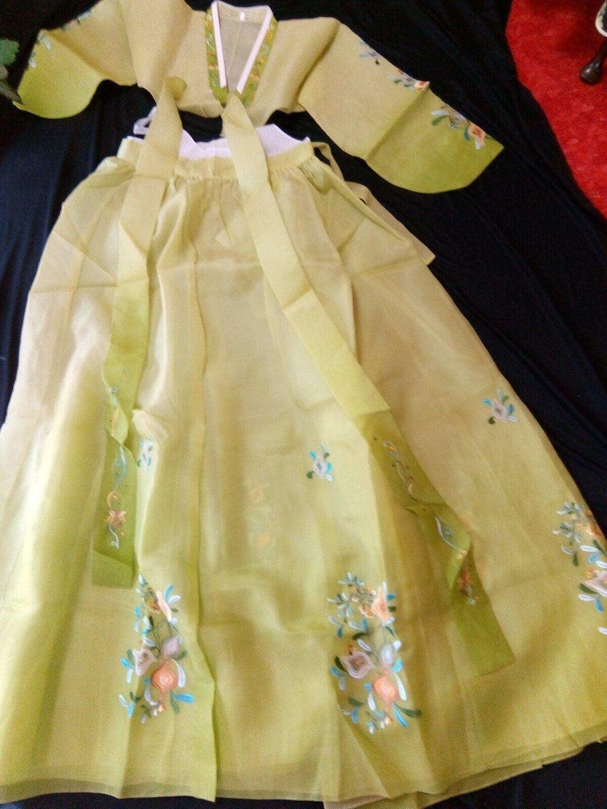 National Kleid aus Korea Hambog