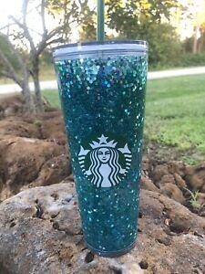Starbucks Venti Snowglobe Tumbler Pink