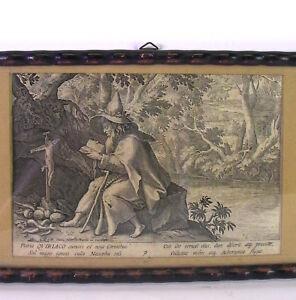 Raphael-I-SADELER-1560-1628-Heiliger-Quiriaco-Ciriaco-Kupferstich