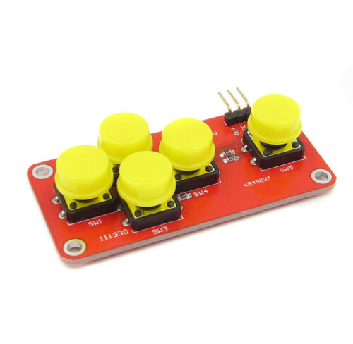 AD Keyboard Electronic Blocks Five Key Module Analog Button US