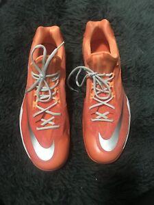 on sale fc207 5161f Image is loading NIKE-Mens-Zoom-Orange-Mesh-Detail-Sport-Logo-