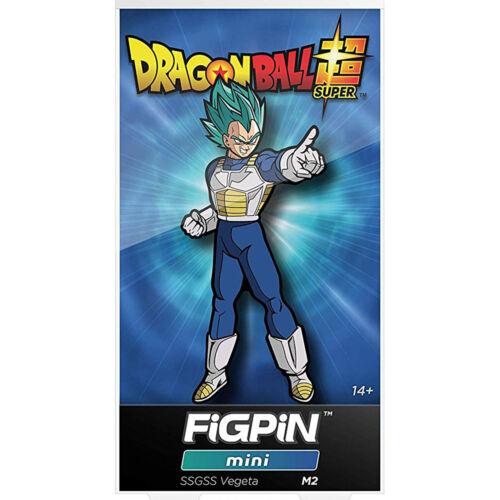 Figpin Mini Dragon Ball Super SSGSS Vegeta Collectible Pin NEW
