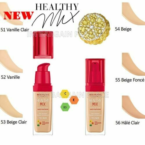 Bourjois Healthy Mix 2017 Fondotinta 52 Vanille For Sale Online Ebay