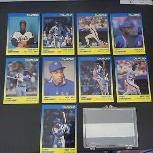 1991 The Star Company Darryl Strawberry Diamond 9 Card Set - Only 2000 Sets Made