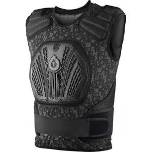 661-MOTOCROSS-MX-MTB-BIKE-CORE-SAVER-PROTECTOR-chest-torso-body-armour-BLACK