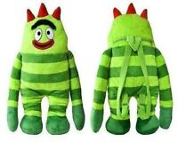 Yo Gabba Gabba Plush 17 Backpack For Kids - Brobee - Licensed Product